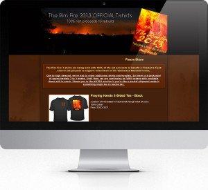 Rim Fire Fundraiser
